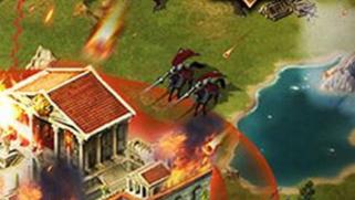 组圆桌骑士团扫荡欧洲 战争网页游戏《王者之战》试玩
