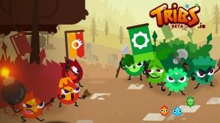 《Tribs.io》是一款关于部落战争的io系网页游戏。游戏有3个部落角色可以玩,每个部落都有自己的优势和劣势。
